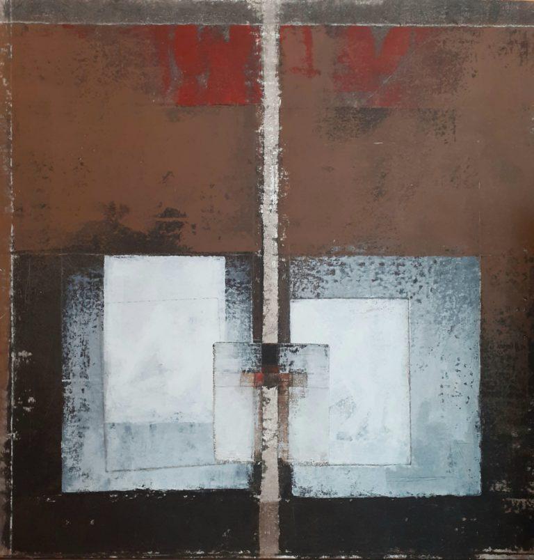 De Luca Giuliano Tecnica mista su tela